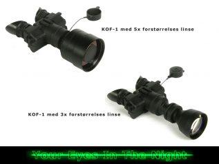 forstørrelseslinser til kof-1 night vision natkikkert goggle