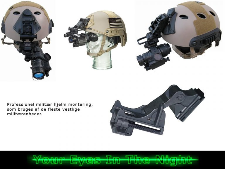 helmet mount for night night vision